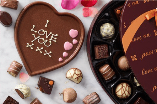Say it with chocolates this Valentine's Day and give a gift from Thorntons.